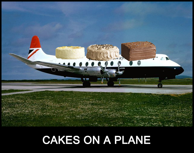 Cakes on a Plane!