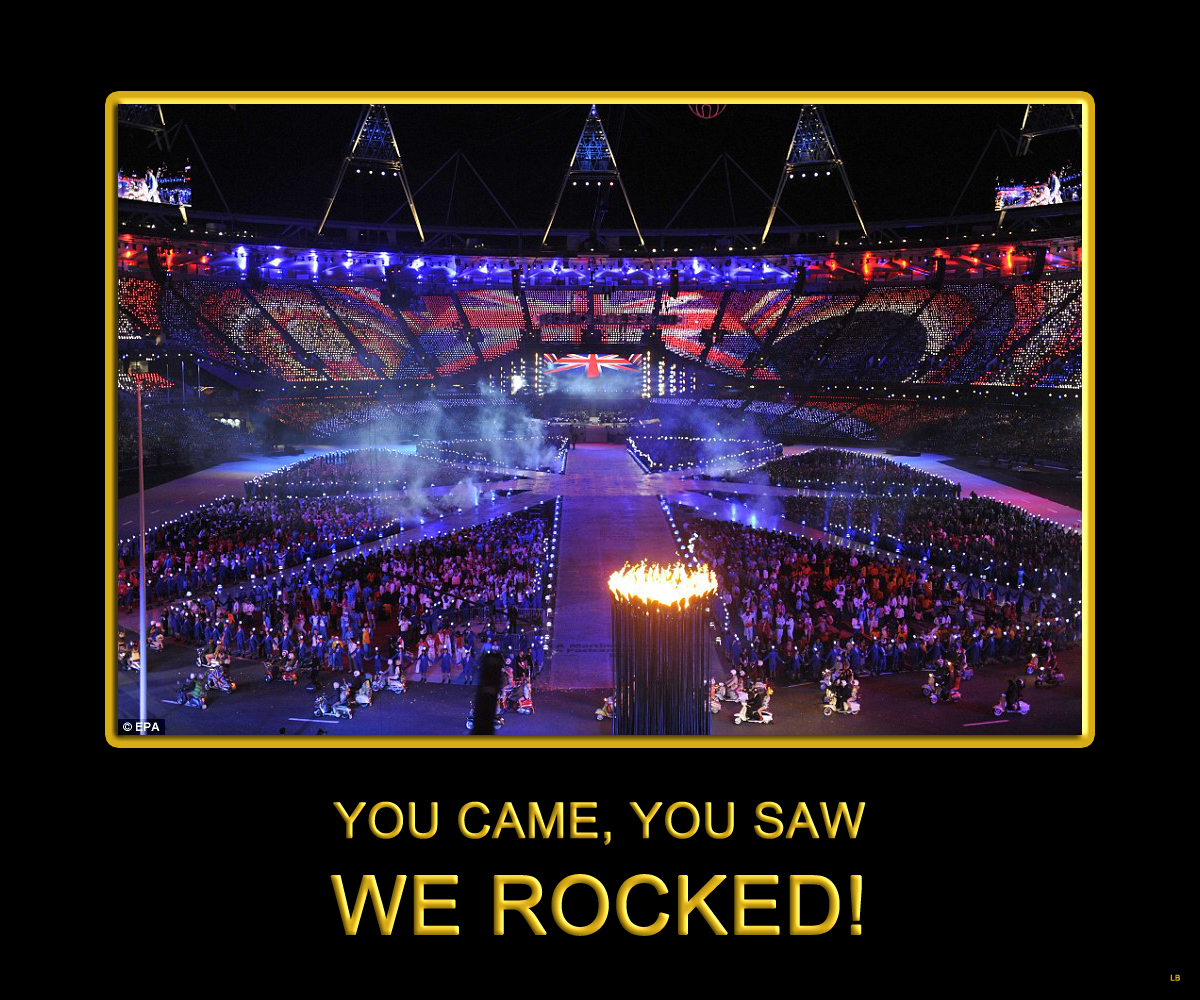 2012 London Olympics Closing Ceremony