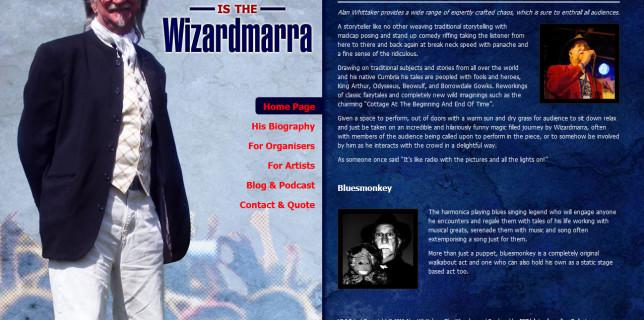 Alan Whittaker is The Wizardmarra